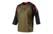 Troy Lee Designs Ruckus Jersey men Logo brown